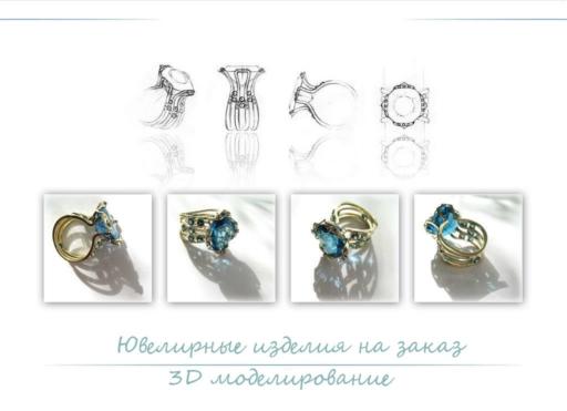 Ювелирные изделия на заказ – моделирование украшения