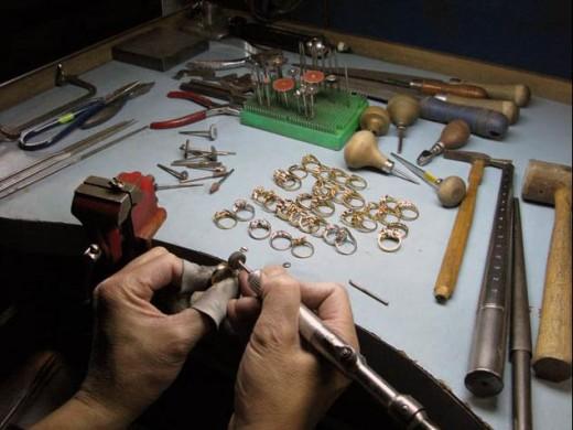 Изготовление ювелирных изделий на заказ.