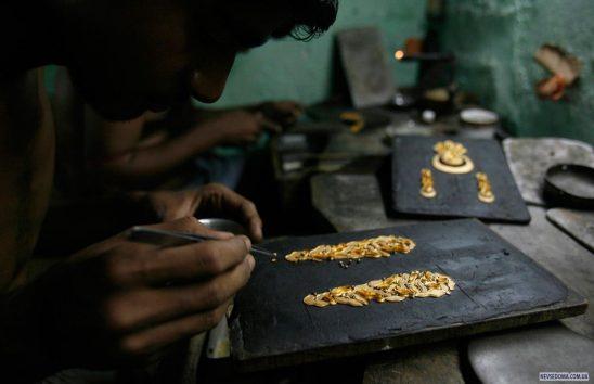 Изготовление ювелирных изделий руками ювелира